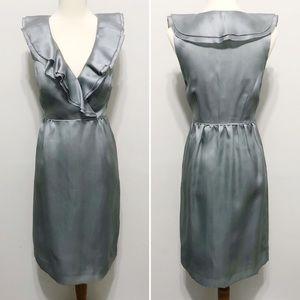 J Crew Silk Organza Kira Dress